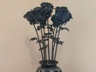 Кованые цветы на заказ