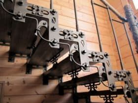 Кованая лестница Авангард