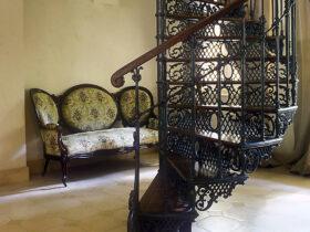 Лестница ажур