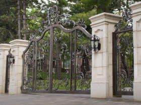 Кованые ворота Новая империя