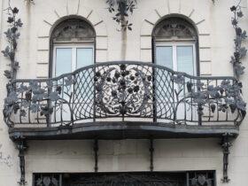 Роскошный балкон