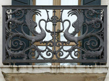 Балкон простой