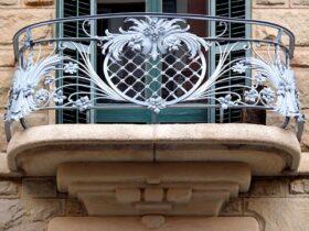 Потрясающий балкон