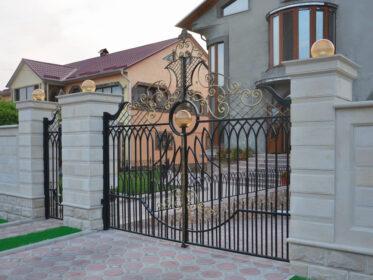 Современные ворота