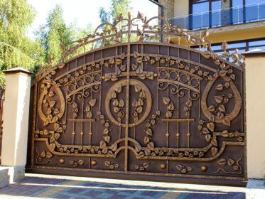 Ворота живописные