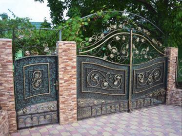 Авторские ворота