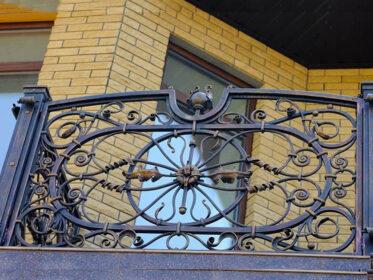 Интересный балкон