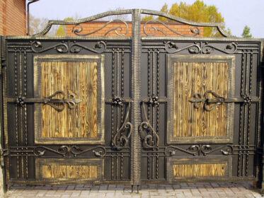 Интересные ворота