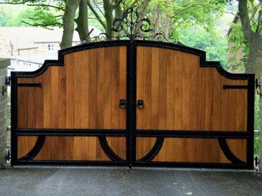 Минималистичные ворота