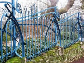 Необычный забор